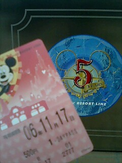 Disneyseaに来ました!