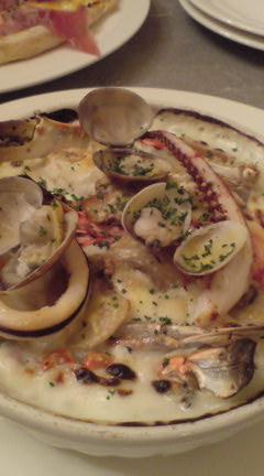 海老と蟹のドリア
